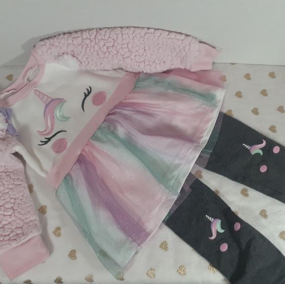 7/$40 Nannette Kids Sweater Dress Outfit